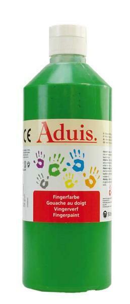 Aduis Gouache aux doigts - 500 ml, vert