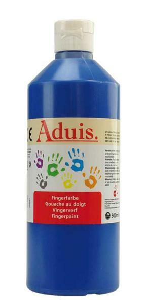 Aduis Gouache aux doigts - 500 ml, bleu
