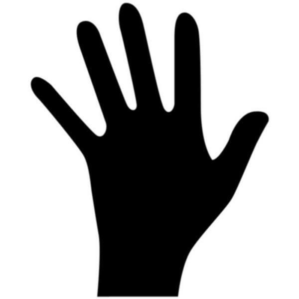 Aduis vingerverf - 500 ml, zwart