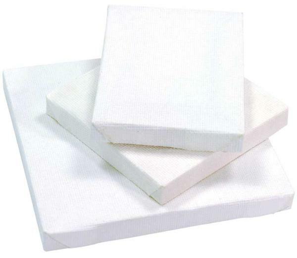 Mini-schildersdoek, 7 x 7 cm