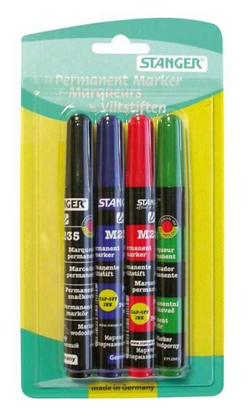 Permanent Marker set, 1-3 mm