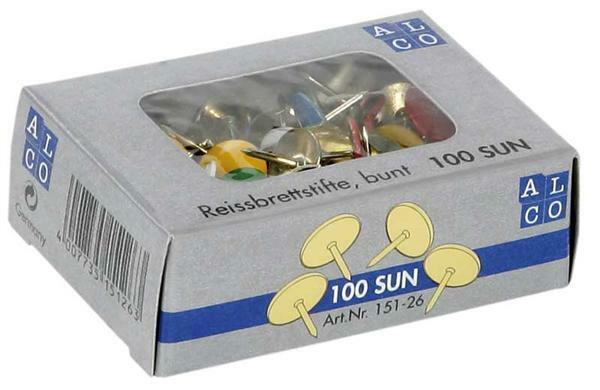 Punaises - bont, 100 stuks