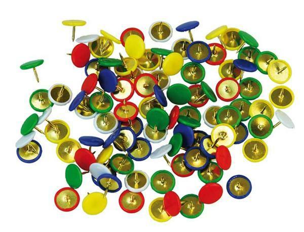 Punaises - multicolores, 100 pces