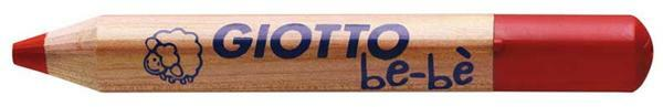 Giotto be-bè Buntstifte, 12 Stk. + Spitzer