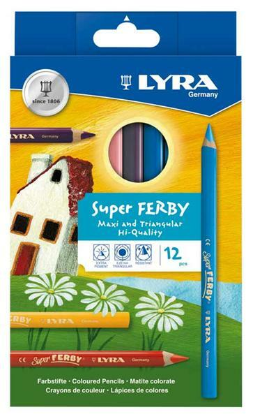 Lyra Super Ferby® multicolore, 12 pces