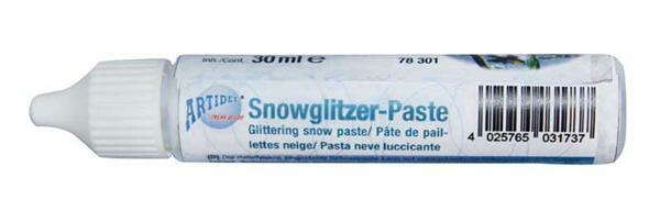 Sneeuwglitter-pasta, 30 ml