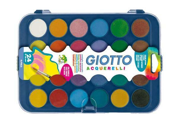 Boîte de peintures Giotto, 24 couleurs