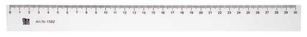 Flexibles Lineal, 30 cm