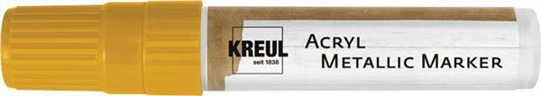 Marqueur Acryl métallic - XXL, or