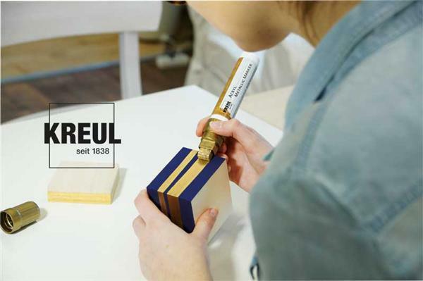 Marqueur Acryl métallic - XXL, argent