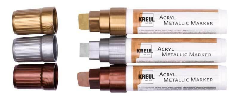 Acryl Metallic Marker - XXL, gold