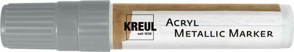 Acryl metallic marker - XXL, zilver