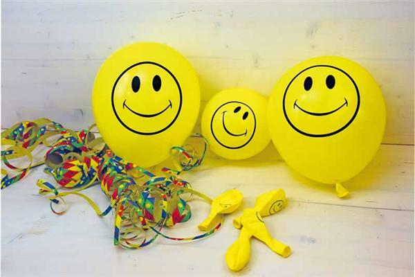 Luftballons Smiley, 10 Stk.