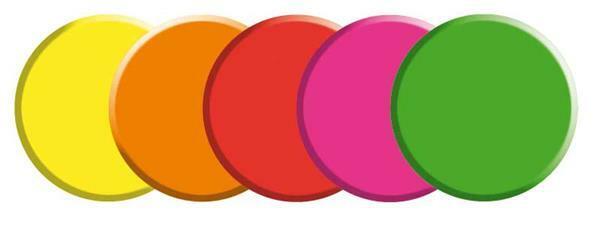 Aristo Nachfülltablettenset, Neon, 55 mm