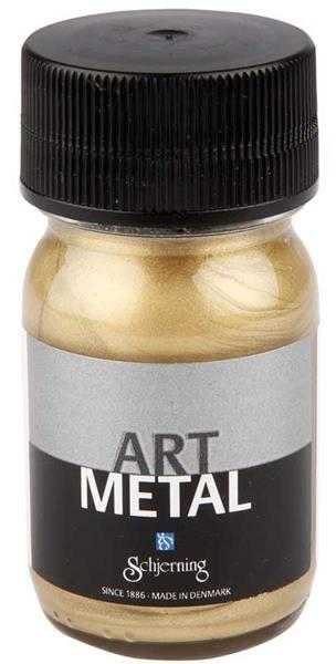 Art metalverf - 30 ml, lichtgoud