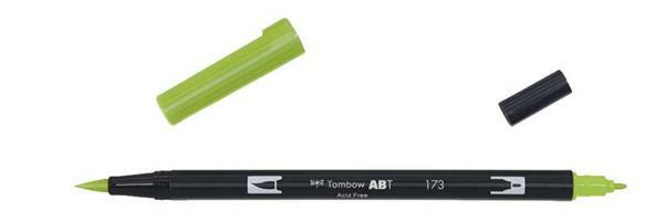 Tombow ABT - Dual Brush Pen, grasgroen