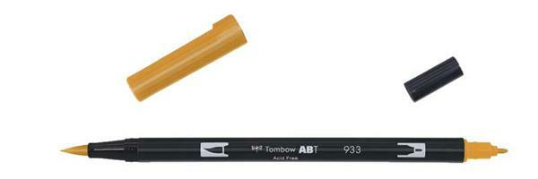 Feutres Tombow ABT - Dual Brush, orange