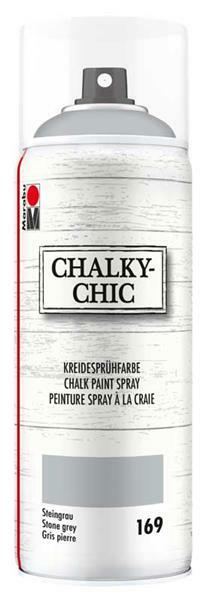 Chalky-Chic Kreidesprühfarbe - 400 ml, steingrau