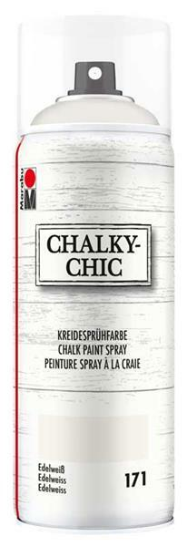 Chalky-Chic krijtverf spray - 400 ml, edelweiss