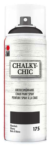 Chalky-Chic krijtverf spray - 400 ml, ebbehout