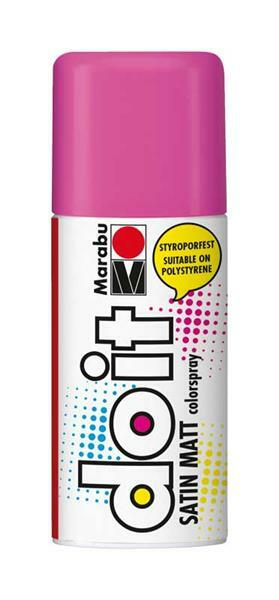 Marabu do it zijdemat spray - 150 ml, roze