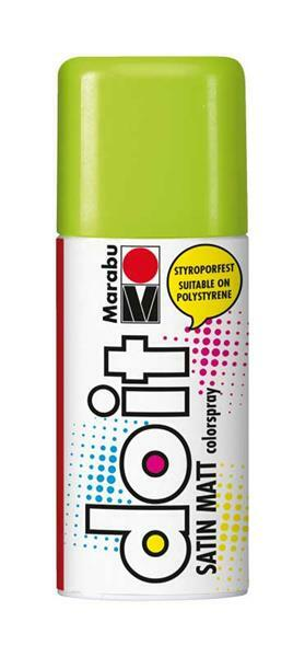 Marabu do it zijdemat spray - 150 ml, limoen