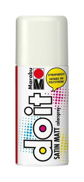 Marabu Do It Satin-mat-Spray - 150 ml, blanc