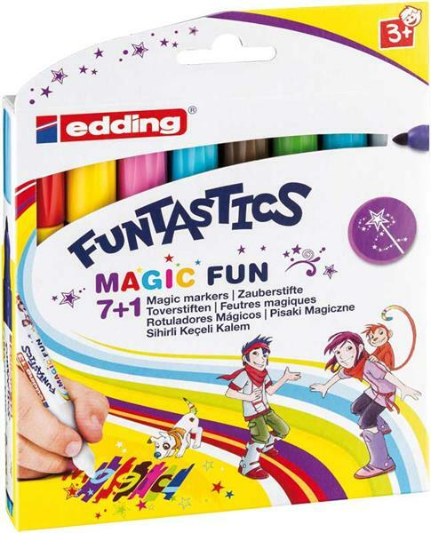 Edding Funtastics - Magic Fun toverstiften, 8 st.