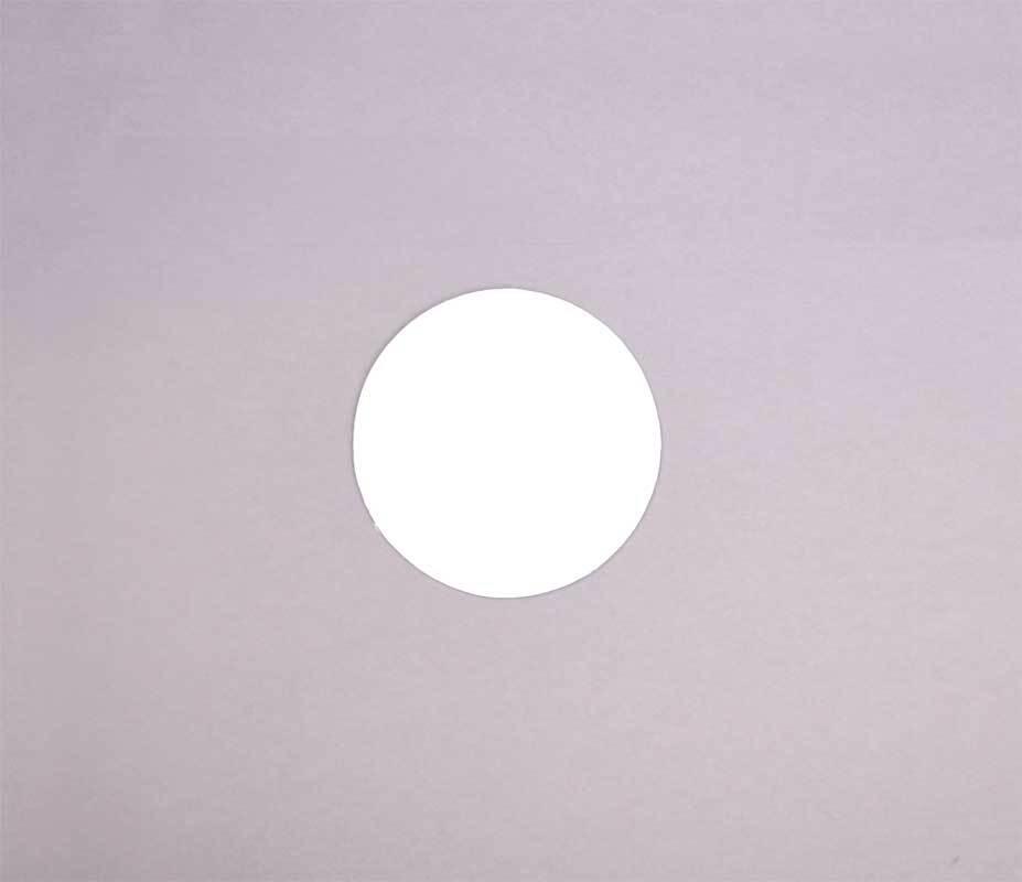 Malkarton rund, Ø 20 cm