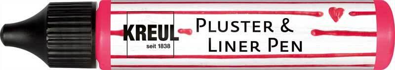 Pluster & Liner Pen - 29 ml, neon pink