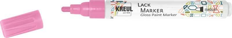 Lack Marker - 2 - 4 mm, pink