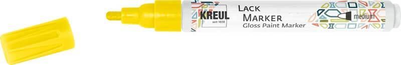Marqueur peinture - 2 - 4 mm, jaune