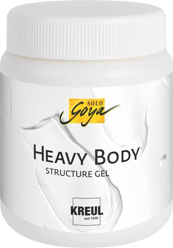 Heavy Body Strukturgel - 250 ml