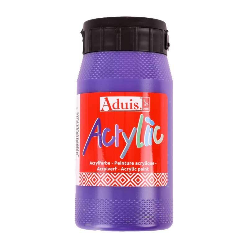 Aduis Acryliic Acrylfarbe - 500 ml, violett