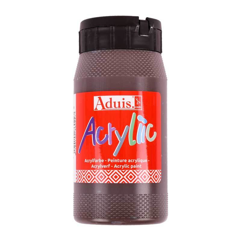 Aduis Acryliic Acrylfarbe - 500 ml, braun