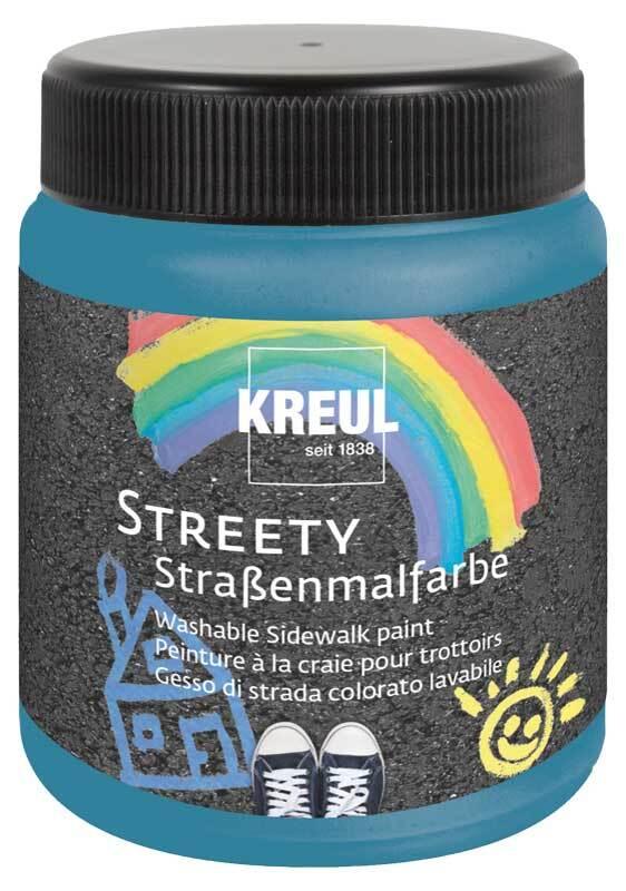 Streety stoepkrijt - 200 ml, slipperblauw