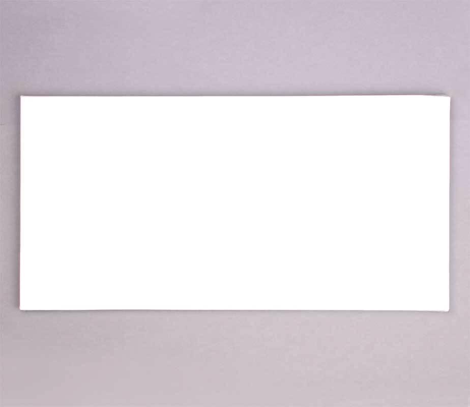 Schilderdoek, 40 x 80 cm