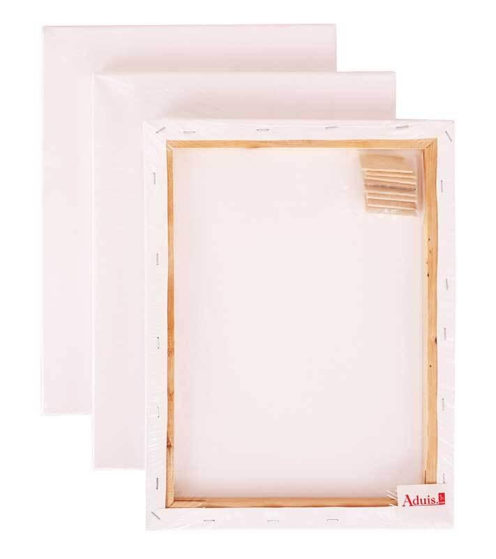 Keilrahmen - Set, 10 Stk. 60 x 80 cm