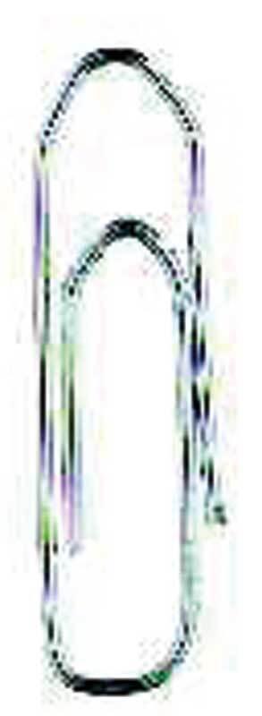 Paperclips - gegalvaniseerd, 1000 stuks