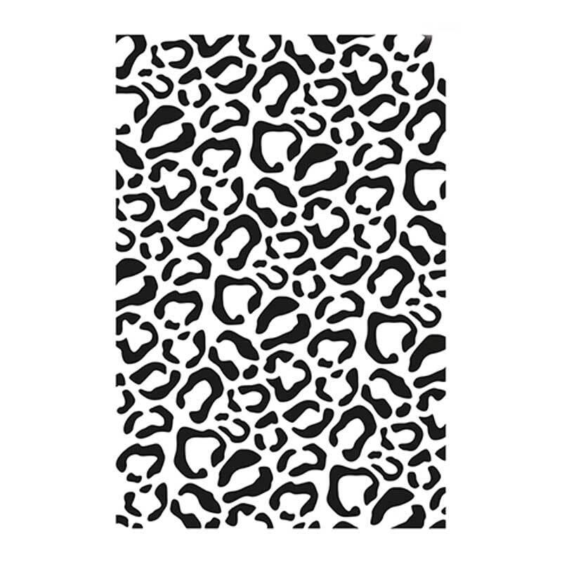 Sjabloon - A4, luipaard