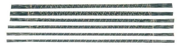 Figuurzaagblaadjes - spiraalblad - 72 stuks