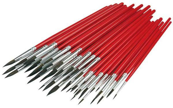 Haarpinsel - Vorteilspackung, 48 Stk.