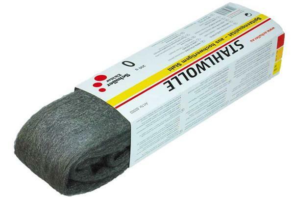 Staalwol - 200 gr., 0 fijn