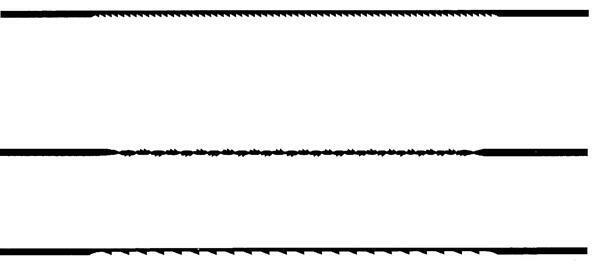 Figuurzaagblaadjes voor metaal-12 stuks maat 3