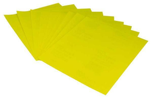 Schleifpapier - Blatt, K 60 grob