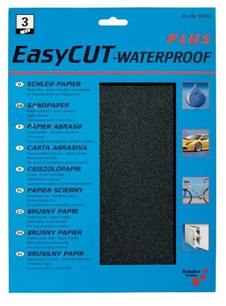 Wasserfestes Schleifpapier - K 600, sehr fein