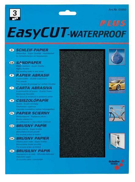 Watervast schuurpapier - korrel 180, middel