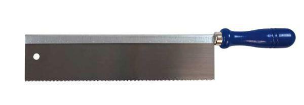 Scie à denture fine droite, 250 mm