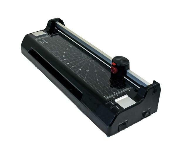 Lamineerapparaat met papiersnijder