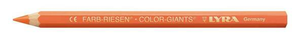 Lyra® crayon de couleur géant - vernis, orange